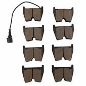Pastilha de Freio Diant. Ferodo HQF4155 Audi R8, A5, S5, RS6 - Cód.7090