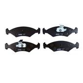 Pastilha de Freio Diant. Jurid HQJ2057 (Ford Fiesta / Ka) - Cód.2570