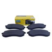 Pastilha de Freio Diant. Jurid HQJ2222A Mitsubishi L200 (02>) / L200 Sport - Cód.3862