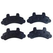 Pastilha de Freio Dianteiro Jurid HQJ2036 (Ford F-1000 4x4 / F-1000/ Turbo)- Cód.3266
