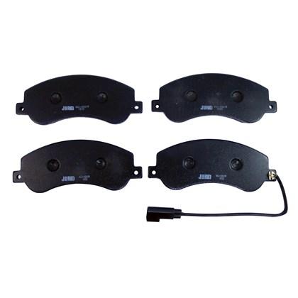 Pastilha de Freio Dianteiro Jurid HQJ2261A (Ford Transit 2.4)  - Cód.2858