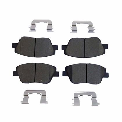 Pastilha de Freio Dianteiro Jurid HQJ4078A (Hyundai Sonata 2.4L 16V) - Cód.3178