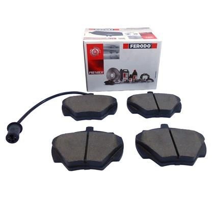 Pastilha de Freio Tras. Ferodo HQF2416A Land Rover Defender - Cód.6215