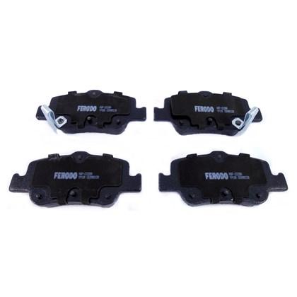 Pastilha de Freio Traseiro Ferodo HQF2228A Toyota Corolla (08...) - Cód.5586
