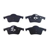 Pastilha de Freio Traseiro Jurid HQJ2437 Volvo S60, S80, V70, XC70 - Cód.2629