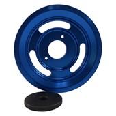 Polia de Virabrequim Chevette Azul - Cód.2945