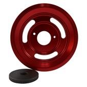 Polia de Virabrequim Chevette Vermelha - Cód.2946