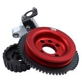 Polia Roda Fônica com Trava Quadrada VW AP Vermelha - Cód.2572