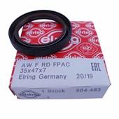 Retentor Dianteiro 504.483 Renault Clio, Sandero, Oroch, Logan, Megane - Cód.5702