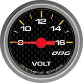 Voltímetro ODG Carbon - Cód.413
